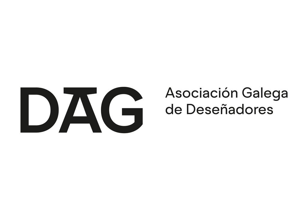 Adaptación tipográfica para o logotipo da Asociación Galega de Deseñadores DAG