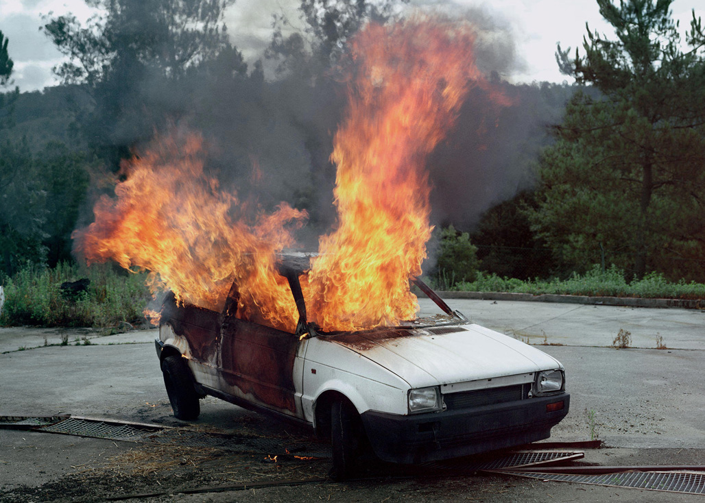 Still Life N° IV. Car on Fire, 2010