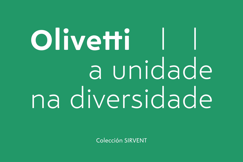 Olivetti. A unidade na diversidade.