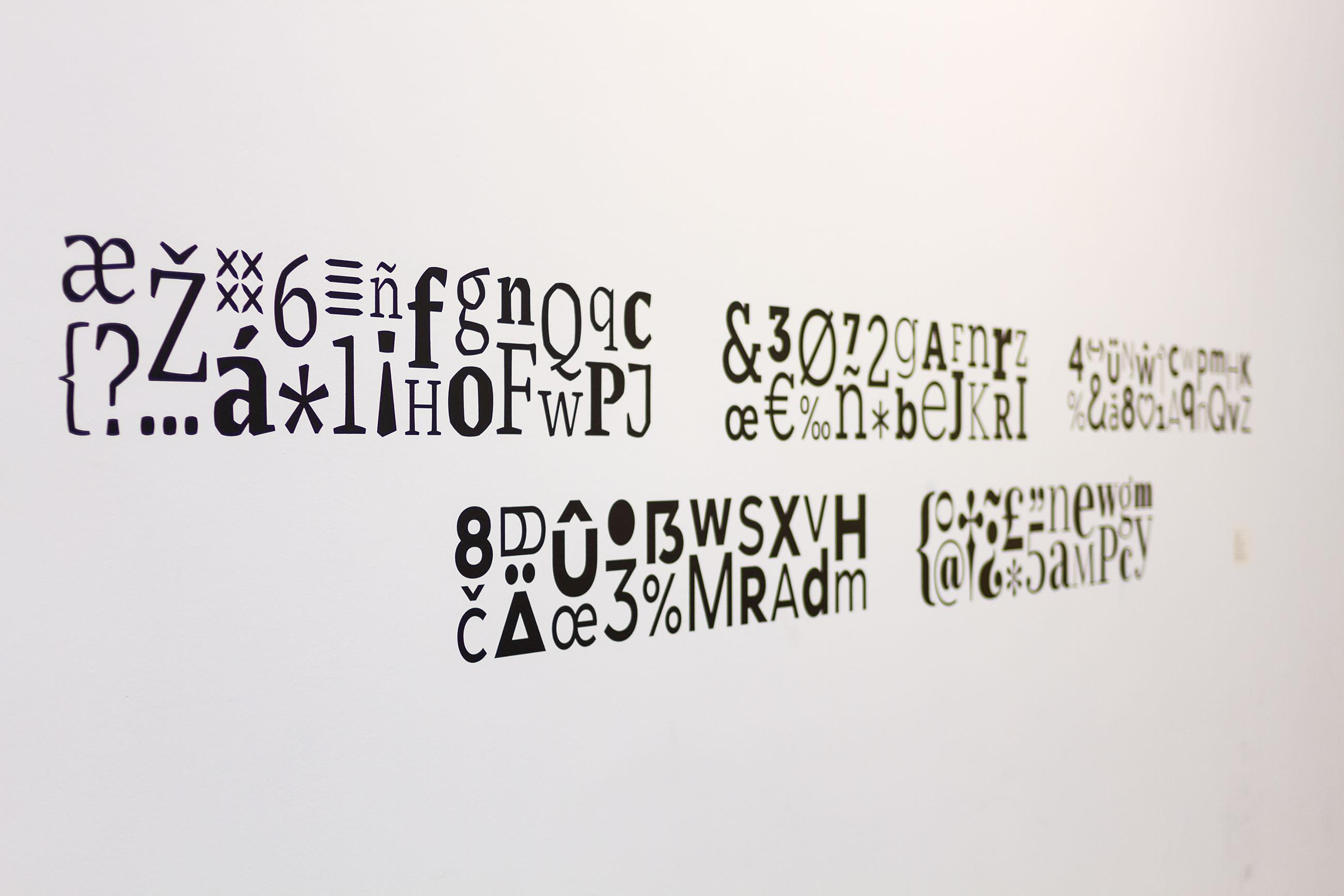 María Ramos. Tipografías